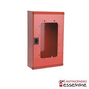Cassetta porta estintore Kg 6-9-12 in lamiera rossa
